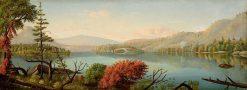 Adirondack Lake | Levi Wells Prentice | Oil Painting