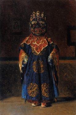The Red Lama | Vasily Vasilevich Vereshchagin | Oil Painting