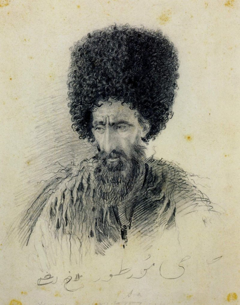 Hadji Murtuz | Vasily Vasilevich Vereshchagin | Oil Painting
