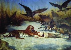 The Tiger (also known as Cannibal) | Vasily Vasilevich Vereshchagin | Oil Painting