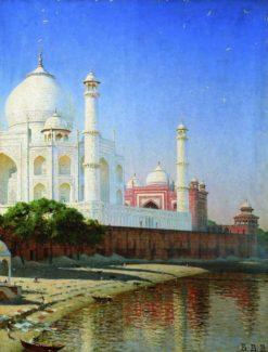 Taj Mahal | Vasily Vasilevich Vereshchagin | Oil Painting
