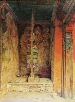 Buddhist Praying | Vasily Vasilevich Vereshchagin | Oil Painting