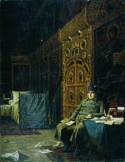 Bad News from France | Vasily Vasilevich Vereshchagin | Oil Painting
