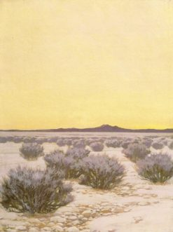 Afterglow in the Desert | Fernand H. Lungren | Oil Painting