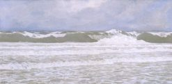 Surf after Storm | Fernand H. Lungren | Oil Painting