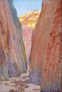 Desert Gorge: Calico | Fernand H. Lungren | Oil Painting