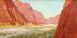 Canyon de Chilly | Fernand H. Lungren | Oil Painting