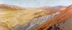 Death Valley: Dante's View | Fernand H. Lungren | Oil Painting