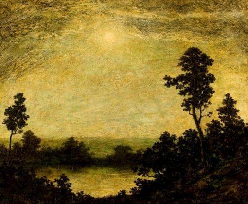 Into the Night | Ralph Albert Blakelock | Oil Painting