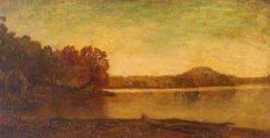 By the Lake | Ralph Albert Blakelock | Oil Painting