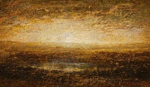 Sunset on the Marsh | Ralph Albert Blakelock | Oil Painting