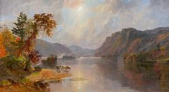 In the Narrows of Lake George | Jasper Francis Cropsey | Oil Painting
