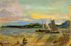 Sails in Cuba | Louis M. Eilshemius | Oil Painting