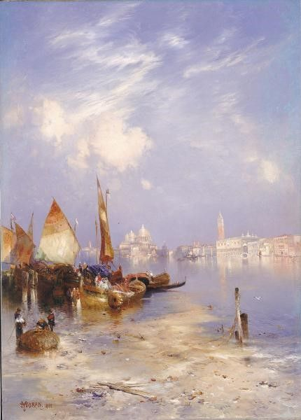A View of Venice | Thomas Moran | Oil Painting