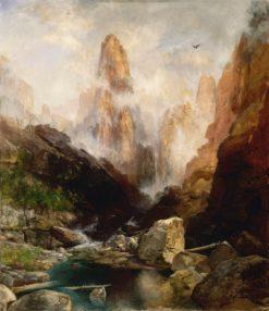 Mist in Kanab Canyon
