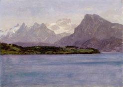 Alaskan Coast Range | Albert Bierstadt | Oil Painting