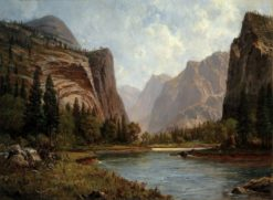Gates of the Yosemite | Albert Bierstadt | Oil Painting