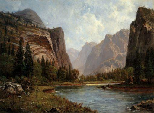 Gates of the Yosemite | Albert Bierstadt | Oil Painting