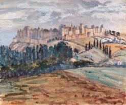 Ancient Castle | Georgette Agutte | Oil Painting