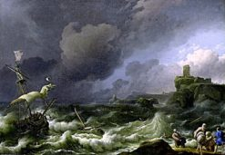 The Storm | Ludolf Backhuysen | Oil Painting