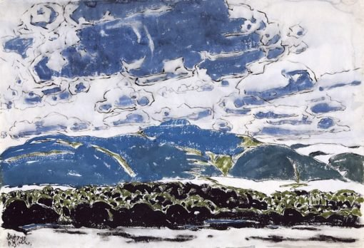 The Mountains (also known as Catskills III) | David Milne | Oil Painting