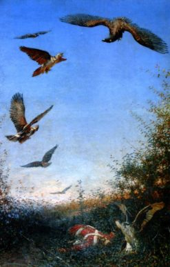 Eagles | Vasily Vasilevich Vereshchagin | Oil Painting