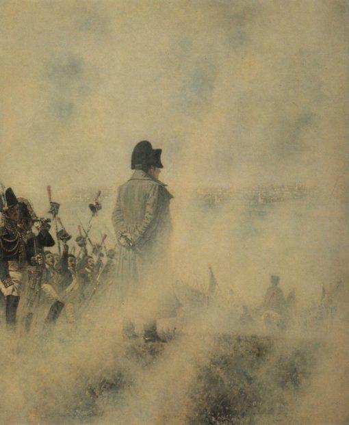 Napoleon near Moscow | Vasily Vasilevich Vereshchagin | Oil Painting