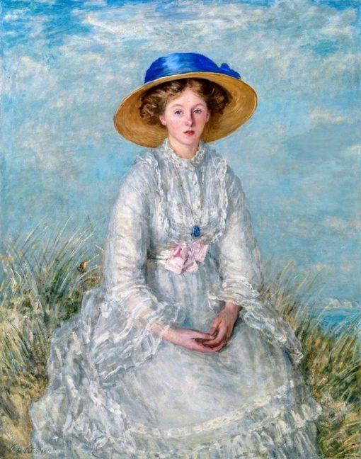 Mrs Geoffrey Blackwell | Philip Wilson Steer | Oil Painting