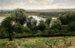River Landscape | Mikhail Tkachenko | Oil Painting