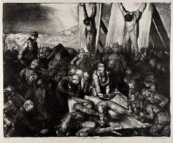 Gott Strafe (also known as Gott Strafe England) | George Wesley Bellows | Oil Painting