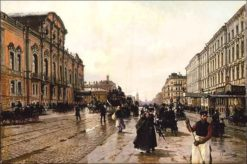 Morning on Nevsky Avenue