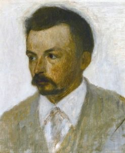 Self Portrait | Vilhelm Hammershøi | Oil Painting