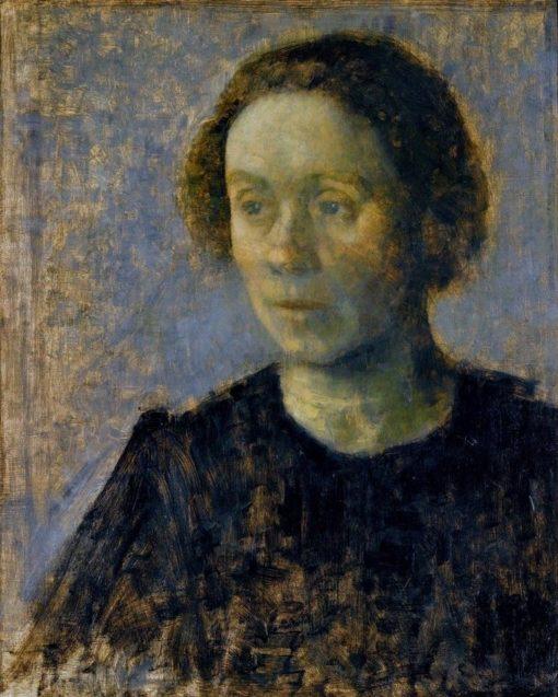 Ida   Vilhelm Hammershøi   Oil Painting