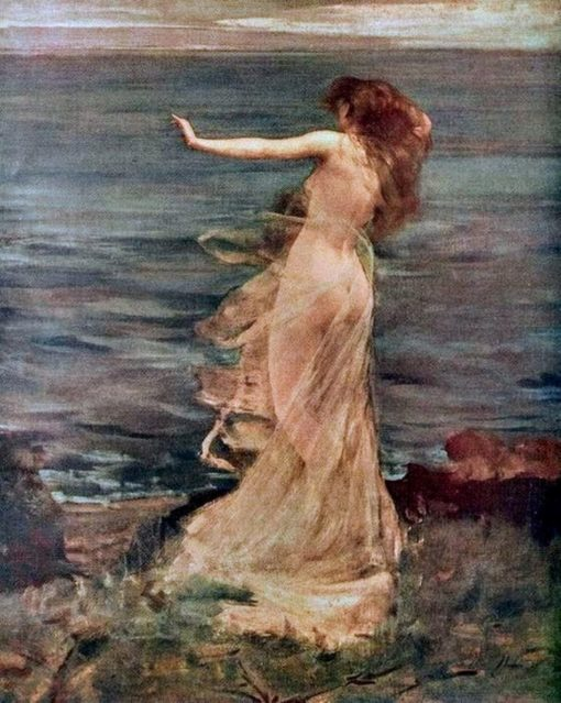 Ariadne   George Frederic Watts   Oil Painting