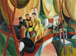 Circus | August Macke | Oil Painting