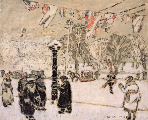 Carnival Dress (also known as Dominion Square I)   David Milne   Oil Painting