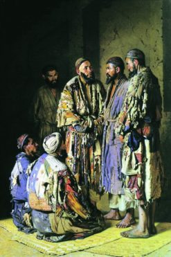 Tashkent Politicians | Vasily Vasilevich Vereshchagin | Oil Painting