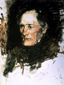 Head of an Old Man | Frank Duveneck | Oil Painting