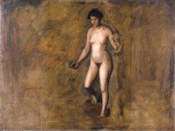 William Rush's Model | Thomas Eakins | Oil Painting