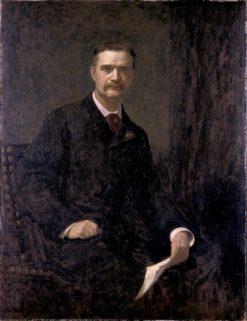 William T. Evans | Wyatt Eaton | Oil Painting