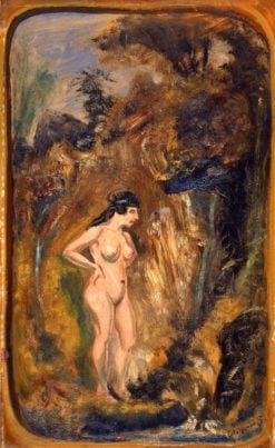 Nude in Forest | Louis M. Eilshemius | Oil Painting