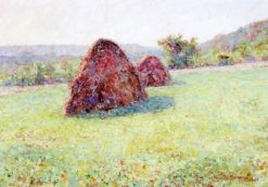 Haystacks | Wynford Dewhurst | Oil Painting