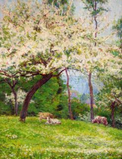 Springtime in Normandy | Wynford Dewhurst | Oil Painting