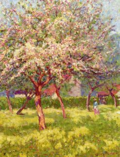 An Orchard in Bloom | Wynford Dewhurst | Oil Painting