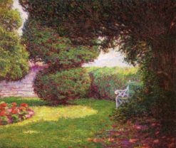 A Corner of the Garden | Wynford Dewhurst | Oil Painting