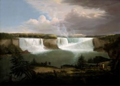A General View of the Falls of Niagara | Alvan Fisher | Oil Painting