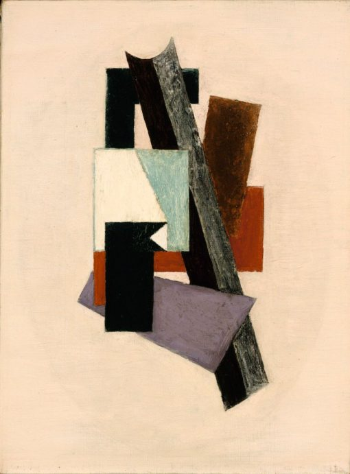 Composition | Albert Eugene Gallatin | Oil Painting