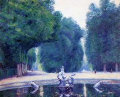 A Fountain at Versailles | Wynford Dewhurst | Oil Painting