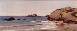 Newport Beach | Elihu Vedder | Oil Painting