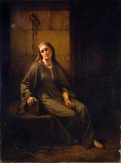 Marguerite in Prison | Johann Grund | Oil Painting